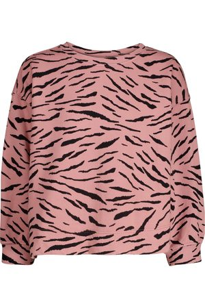 Velvet Hilda zebra-print cotton sweatshirt
