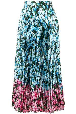 Mary Katrantzou Falda plisada con estampado floral