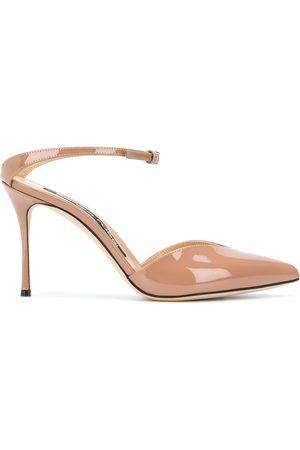 Sergio Rossi Mujer Stiletto - Zapatillas con tira en el tobillo