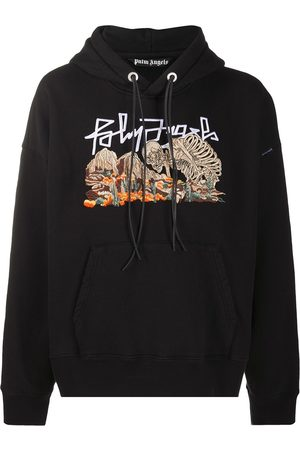 Palm Angels DESERT SKULL HOODY BLACK MULTICOLOR