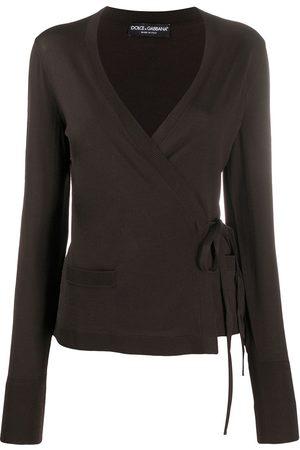 Dolce & Gabbana Blusa cruzada