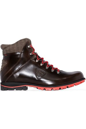Rossignol High-shine leather ankle boots
