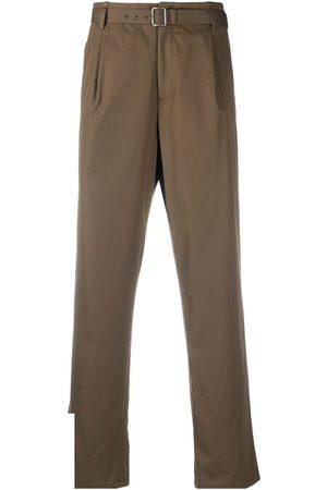 Neil Barrett Pantalones tipo chino con cinturón