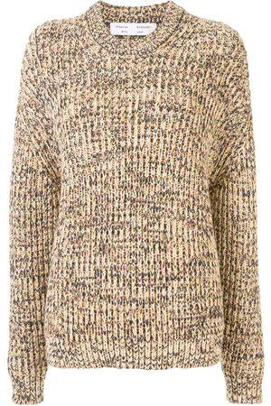 PROENZA SCHOULER WHITE LABEL Suéter tejido con cuello redondo