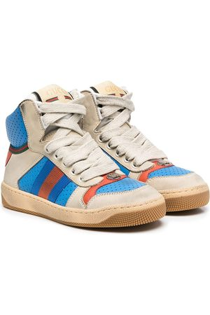 Gucci High-top leather sneakers