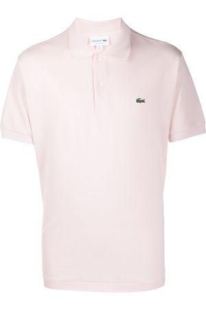 Lacoste Hombre Polos - Playera tipo polo con logo bordado