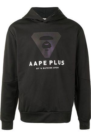 AAPE BY *A BATHING APE® Logo-print side-zip hoodie