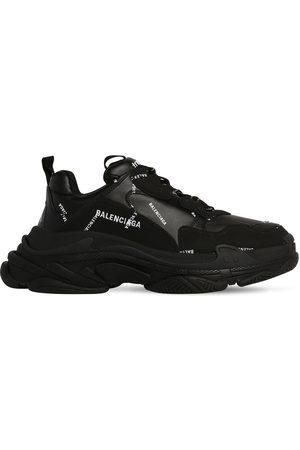 """Balenciaga Sneakers """"triple S"""" De Piel Sintética Y Malla"""