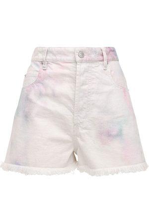 """Isabel Marant Shorts """"lesiabb"""" De Denim Decolorado"""