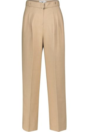 Frankie Shop Belted straight pants