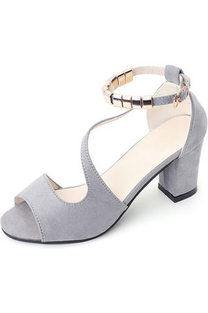YOINS Chunky Heel Sandals with Ankle Strap