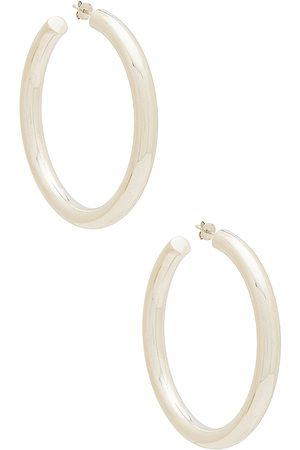 The M Jewelers Pendientes en color metálico talla all en - Metallic Silver. Talla all.
