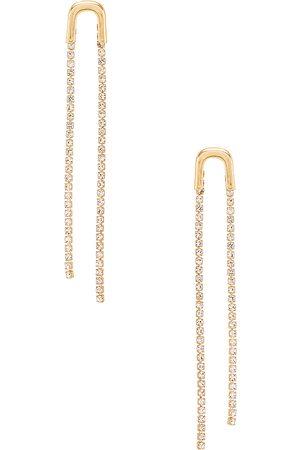 Ettika Pendiente en color oro metálico talla all en - Metallic Gold. Talla all.