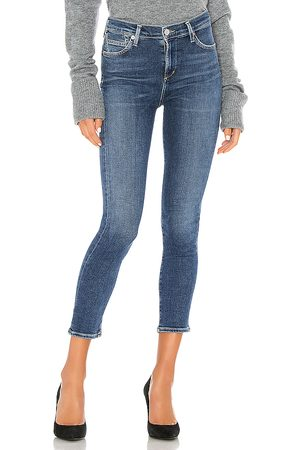 Citizens of Humanity Rocket crop mid rise skinny en color azul talla 23 en - Blue. Talla 23 (también en 24, 25, 26, 27, 28