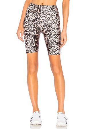 Onzie Pantalón corto motero en color marrón talla M/L en - Brown. Talla M/L (también en S/M, XS).