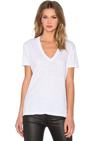 MONROW Camiseta en color talla L en - White. Talla L (también en M, S, XS).