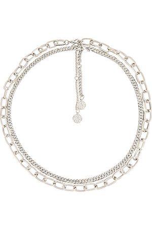 8 Other Reasons Collar brielle en color metálico talla all en - Metallic Silver. Talla all.