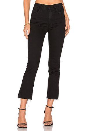 Mother Jeans tobillo deshilachado the hustler en color negro talla 23 en - Black. Talla 23 (también en 24, 25, 26, 27, 28, 29, 30, 3