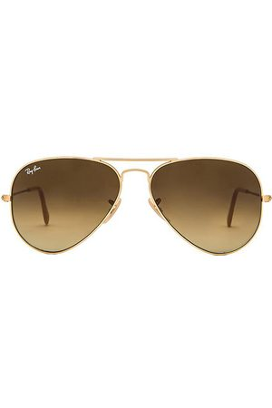 Ray-Ban Gafas de sol aviator en color marrón talla all en - Brown. Talla all.