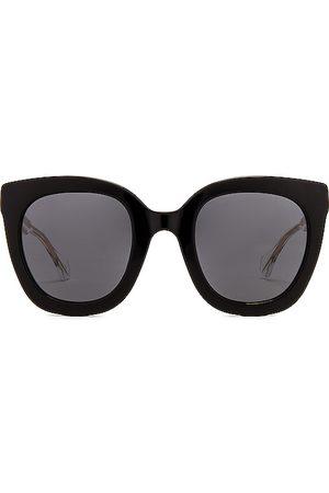 Gucci Gafas de sol round square en color negro talla all en - Black. Talla all.