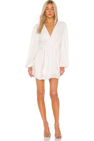 Retrofete Vestido gabrielle en color blanco talla M en - White. Talla M (también en S, XS).