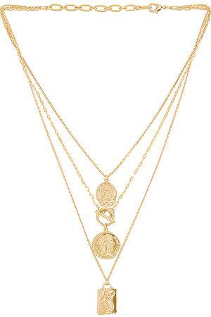 Amber Sceats Collar en color oro metálico talla all en - Metallic Gold. Talla all.