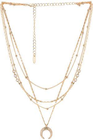 Ettika Collar en color oro metálico talla all en - Metallic Gold. Talla all.