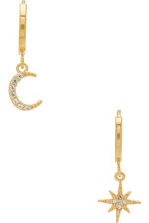 Five and Two Aros chloe en color oro metálico talla all en - Metallic Gold. Talla all.