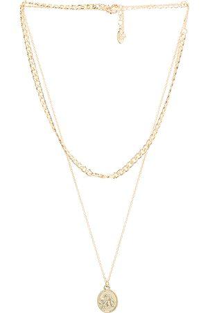 8 Other Reasons Amira lariat en color oro metálico talla all en - Metallic Gold. Talla all.