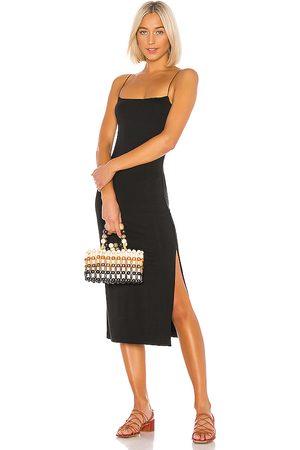 ENZA COSTA Vestido lencero en color talla L en - Black. Talla L (también en XS, S, M).