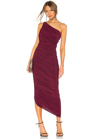 Norma Kamali Vestido diana en color morado talla L en - Purple. Talla L (también en XS).