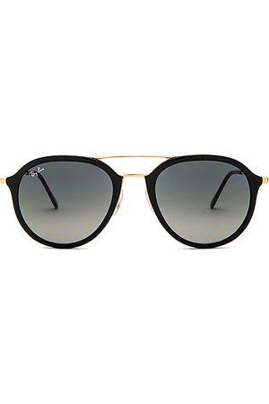 Ray-Ban Lentes de sol - Gafas de sol double bridge aviator en color negro talla all en - Black. Talla all.