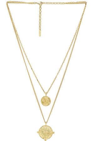 Luv AJ Collar en color oro metálico talla all en - Metallic Gold. Talla all.