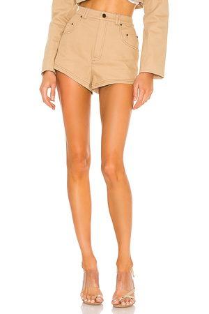 h:ours Midtown shorts en color bronce talla L en - Tan. Talla L (también en XXS, XS, S, M, XL).