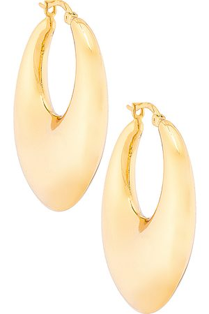 Shashi Pendiente goldmine en color oro metálico talla all en - Metallic Gold. Talla all.