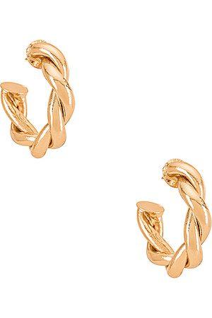 Amber Sceats Aros en color oro metálico talla all en - Metallic Gold. Talla all.