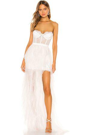For Love & Lemons Vestido largo en color talla M en - White. Talla M (también en S, XS, L, XL).