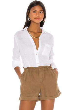 Rails Camisa ellis en color talla S en - White. Talla S (también en XS).