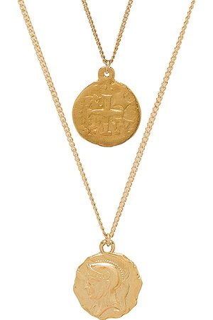 Martha Calvo Collar en color oro metálico talla all en - Metallic Gold. Talla all.
