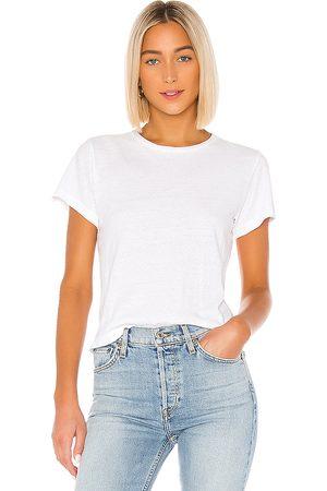 RE/DONE Camiseta the classic en color blanco talla L en - White. Talla L (también en M, S, XS).