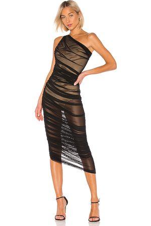 Norma Kamali Mujer Vestidos - Vestido diana en color negro talla L en - Black. Talla L (también en XS, S, M).