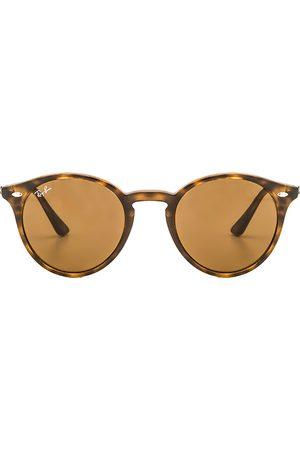 Ray-Ban Gafas de sol round en color marrón talla all en - Brown. Talla all.