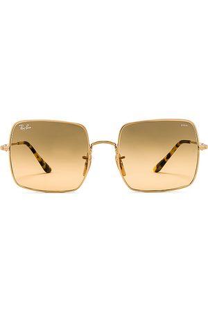 Ray-Ban Gafas de sol square evolve en color oro metálico talla all en - Metallic Gold. Talla all.