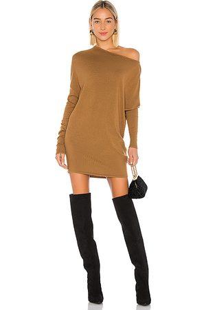 NBD Vestido cortado en color marrón talla M en - Brown. Talla M (también en S).