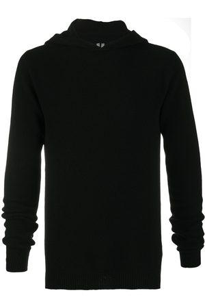 Rick Owens Suéter de cachemira con capucha