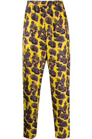Stella McCartney Pantalones con estampado gráfico
