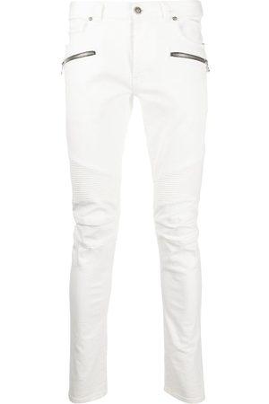 Balmain Hombre Skinny - Jeans slim con paneles