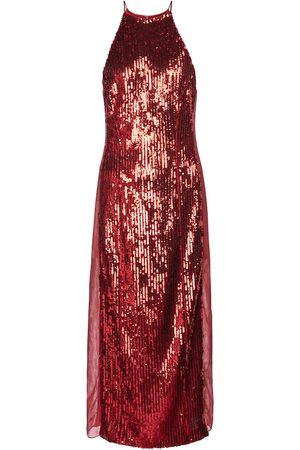 GALVAN Exclusive to Mytheresa – Sequined stretch-tulle midi dress