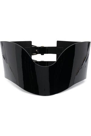Philipp Plein Cinturón con diseño de corset