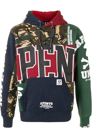 AAPE BY *A BATHING APE® Sudadera a paneles con capucha